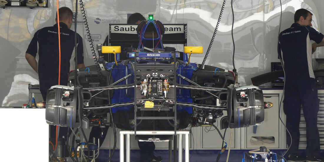 Sauber - GP China - Shanghai - Donnerstag - 14.4.2016