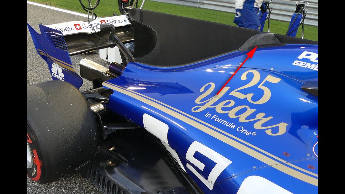 Sauber - GP China - Technik - Formel 1 - 2017