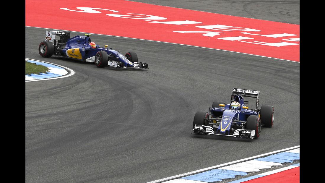 Sauber - GP Deutschland 2016