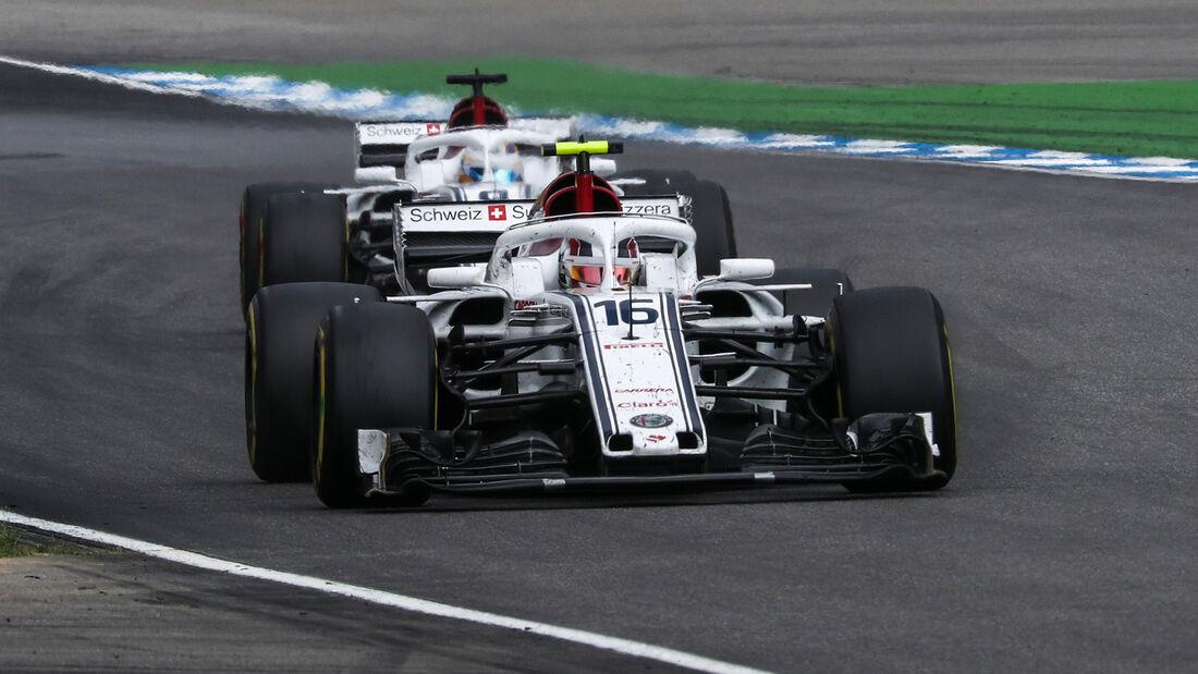 Sauber - GP Deutschland 2018