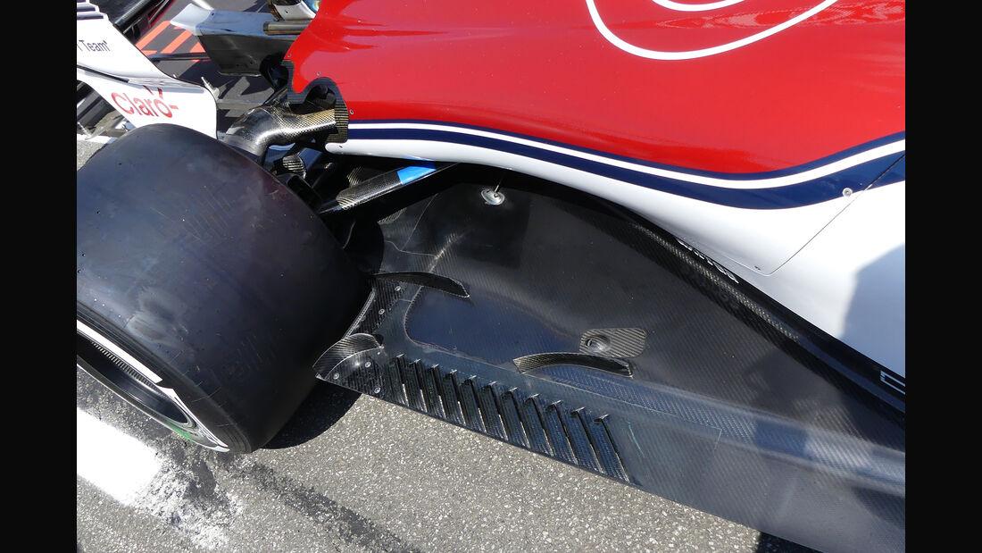 Sauber - GP Deutschland - Hockenheim - Formel 1 - Donnerstag - 19.7.2018