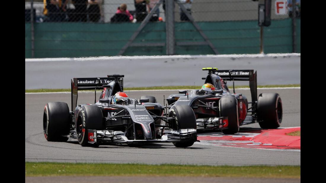 Sauber - GP England 2014