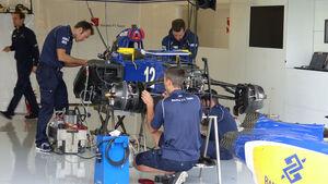Sauber - GP England - Silverstone - Donnerstag - 2.7.2015