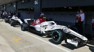 Sauber - GP England - Silverstone - Formel 1 - Donnerstag - 5.7.2018