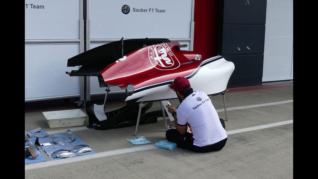 Sauber - GP England - Silverstone - Formel 1 - Mittwoch - 4.7.2018