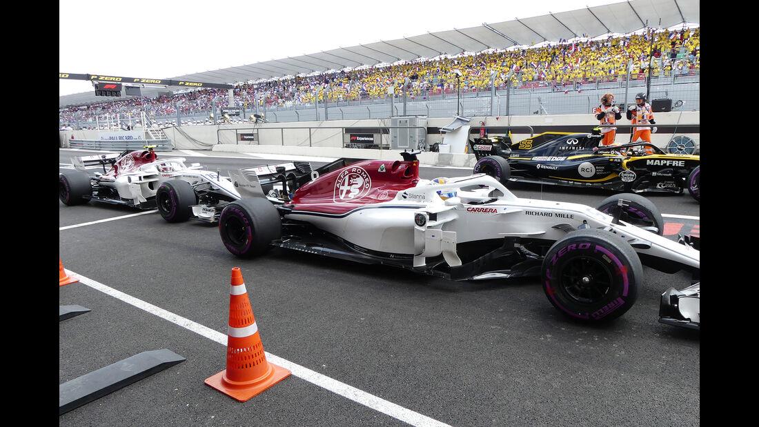 Sauber - GP Frankreich 2018