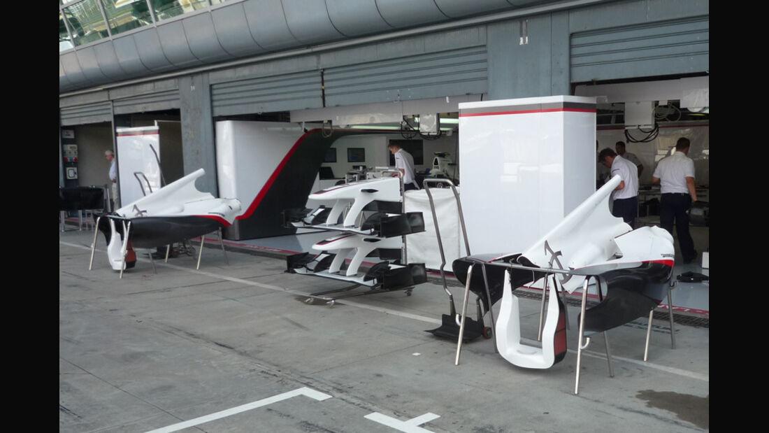 Sauber GP Italien 2010