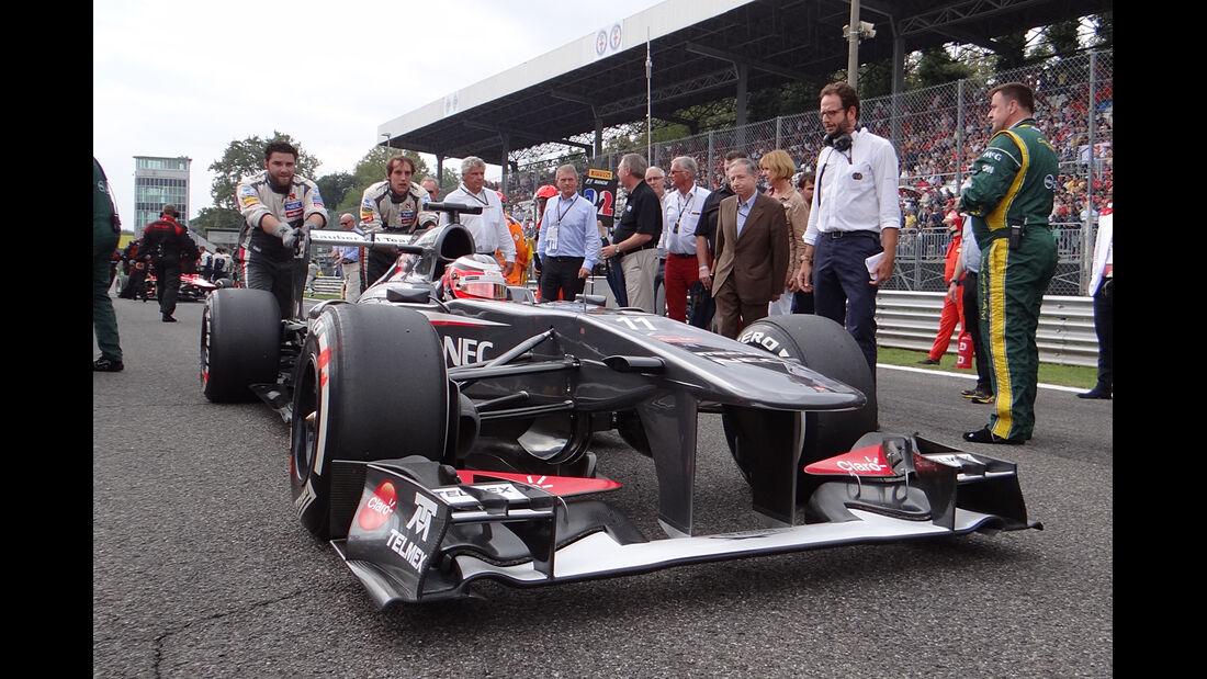 Sauber - GP Italien 2013