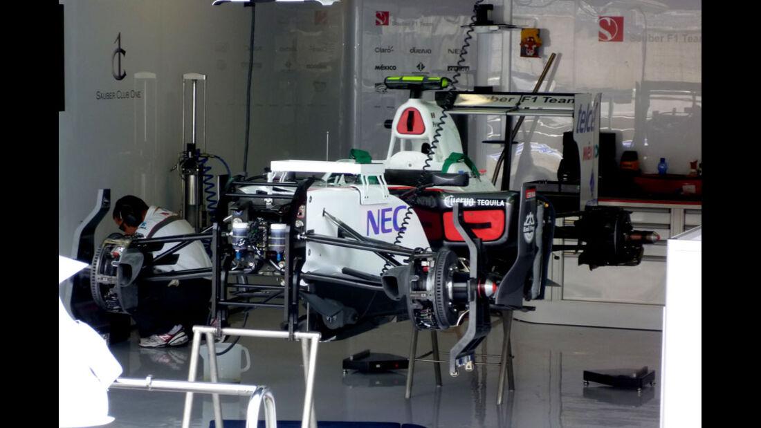 Sauber - GP Italien - 8. September 2011