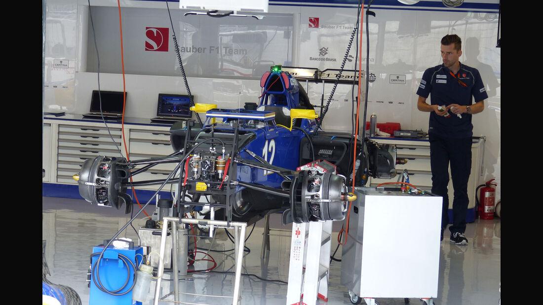 Sauber - GP Italien - Monza - Donnerstag - 3.9.2015