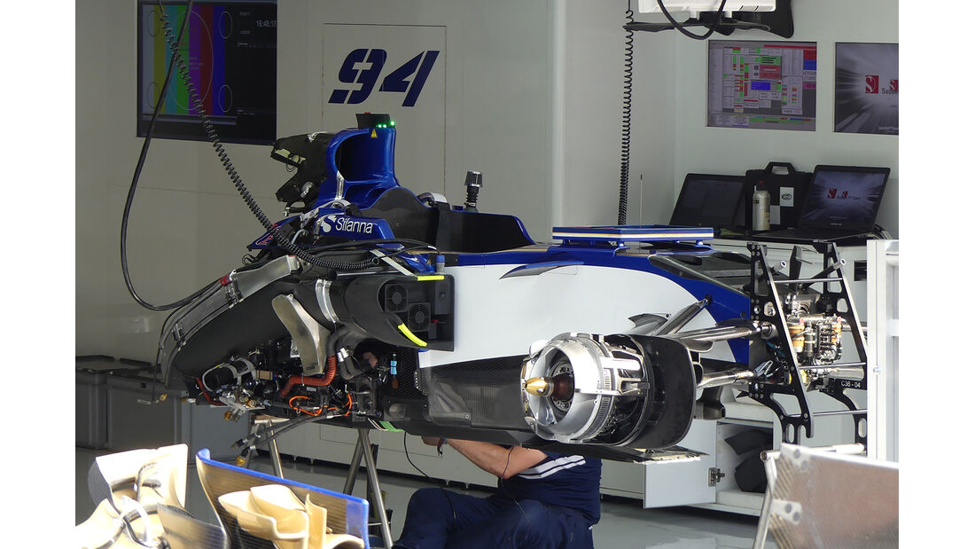 Sauber  - GP Italien - Monza - Formel 1 - 30. August 2017