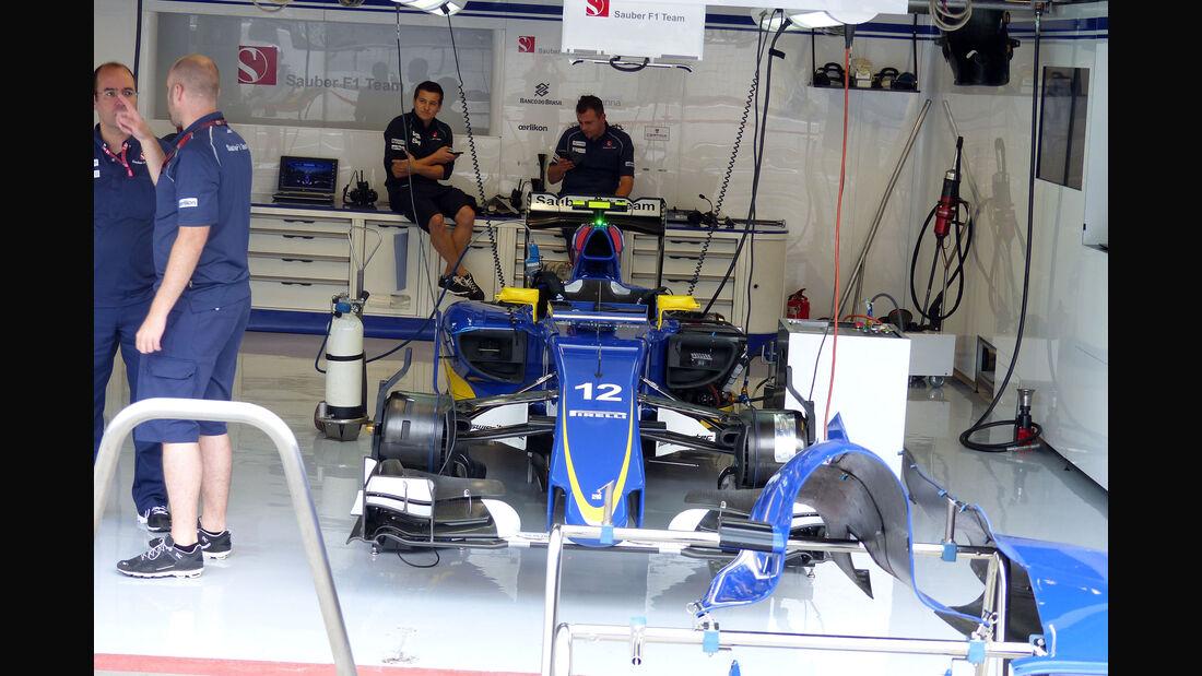Sauber - GP Italien - Monza - Freitag - 4.9.2015
