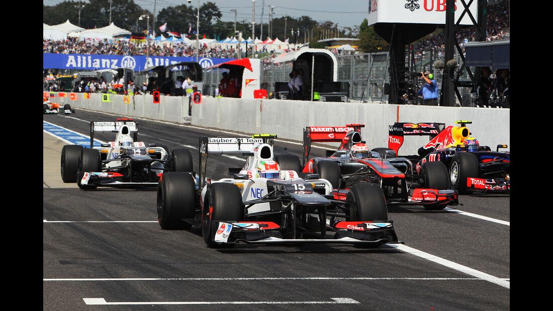 Sauber - GP Japan 2012