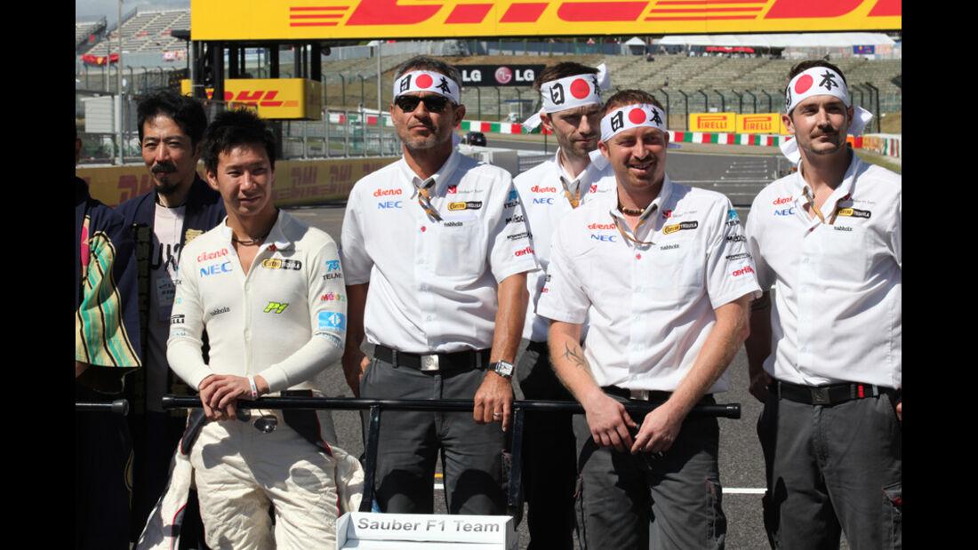 Sauber - GP Japan - Suzuka - 6. Oktober 2011