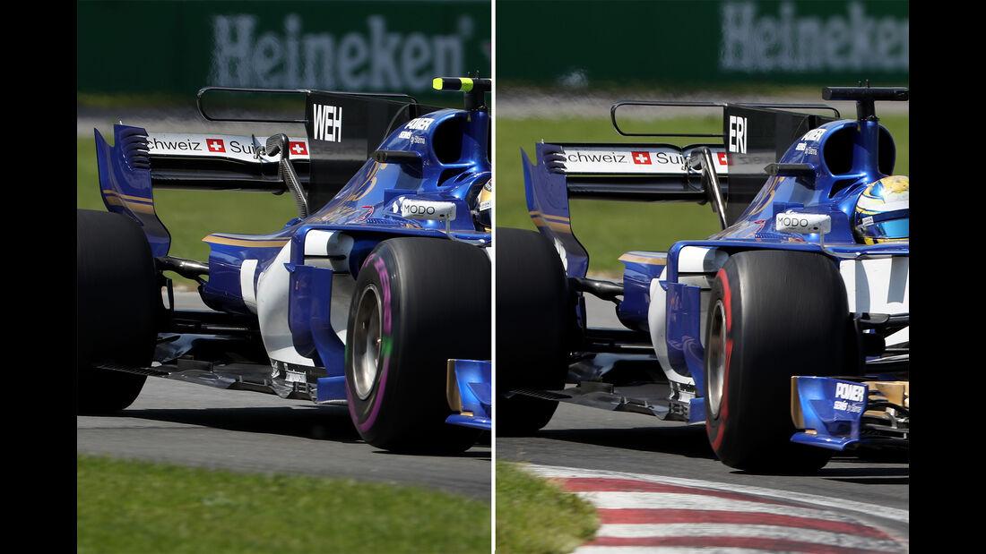Sauber - GP Kanada - Formel 1 - Technik - 2017