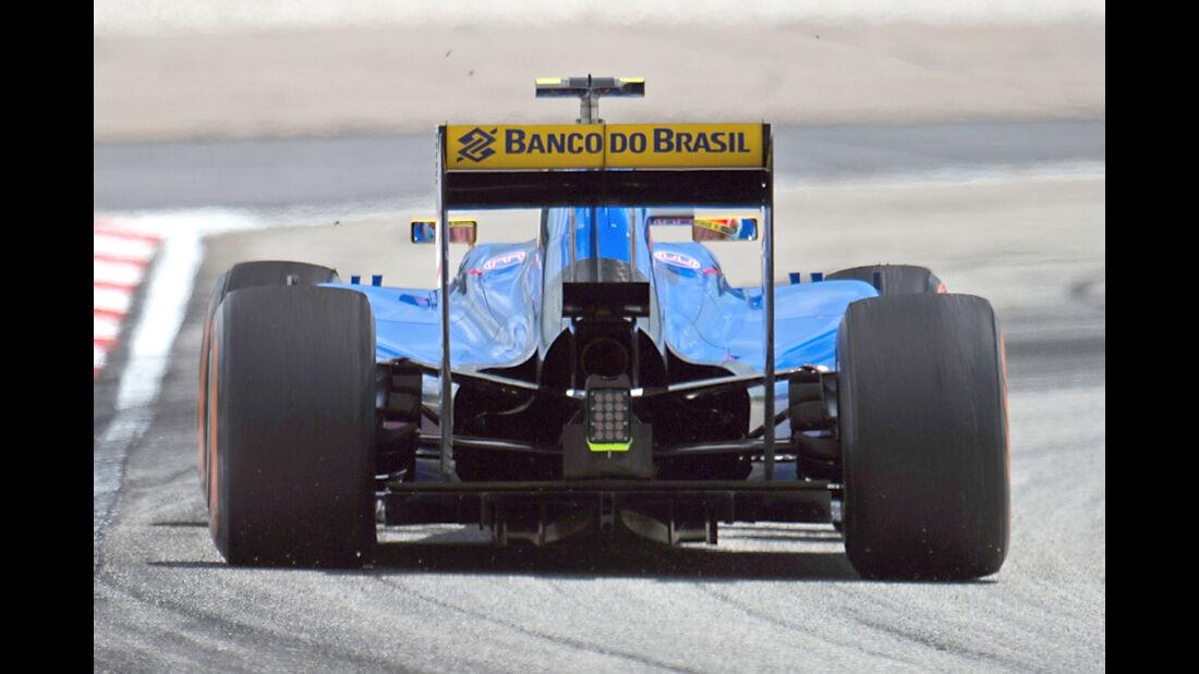 Sauber - GP Malaysia 2015 - Kühlung