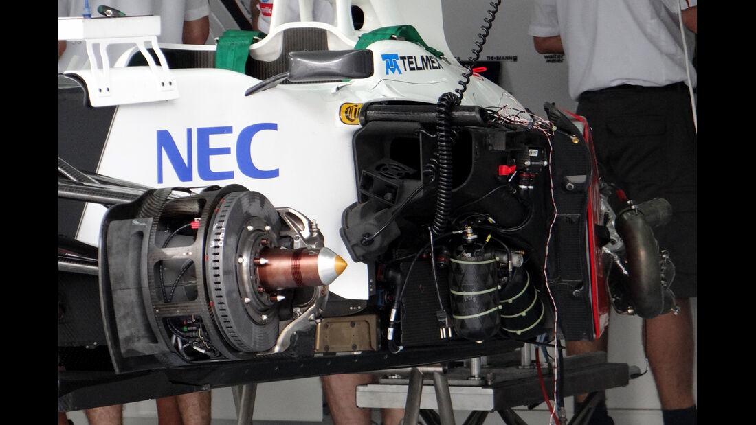 Sauber - GP Malaysia - 22. März 2012