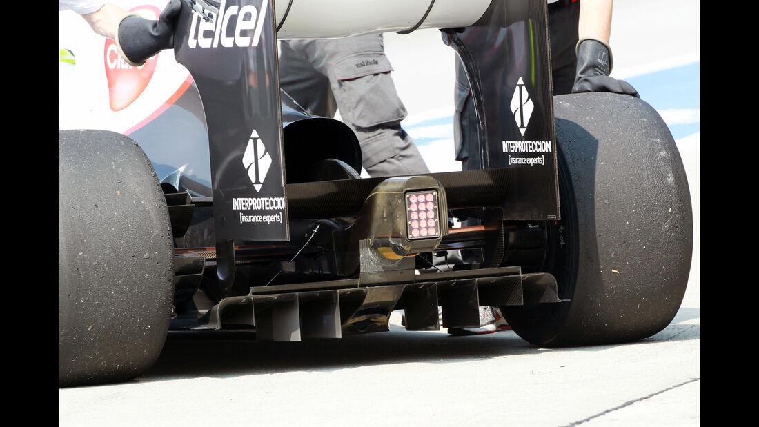 Sauber - GP Malaysia - Training - 23. März 2012