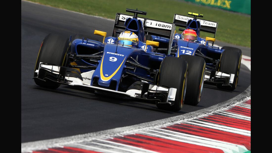 Sauber - GP Mexiko 2015