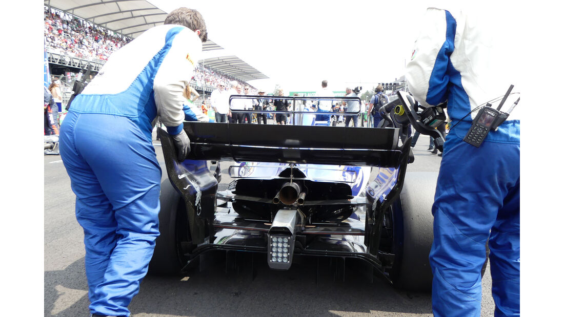 Sauber - GP Mexiko 2017