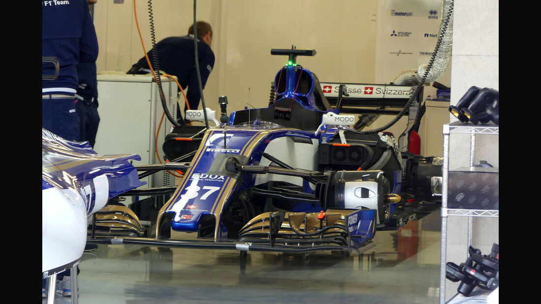 Sauber - GP Mexiko - Formel 1 - Freitag - 27.10.2017
