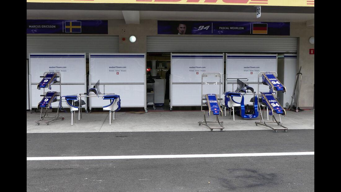 Sauber - GP Mexiko - Formel 1 - Mittwoch - 25.10.2017