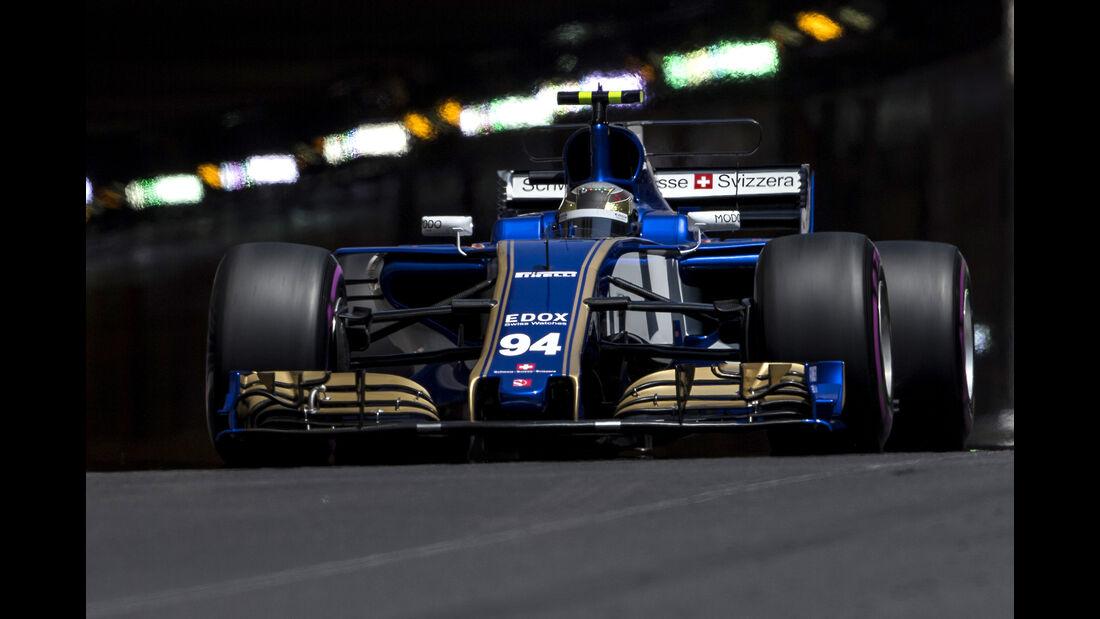 Sauber - GP Monaco - Formel 1 - 2017