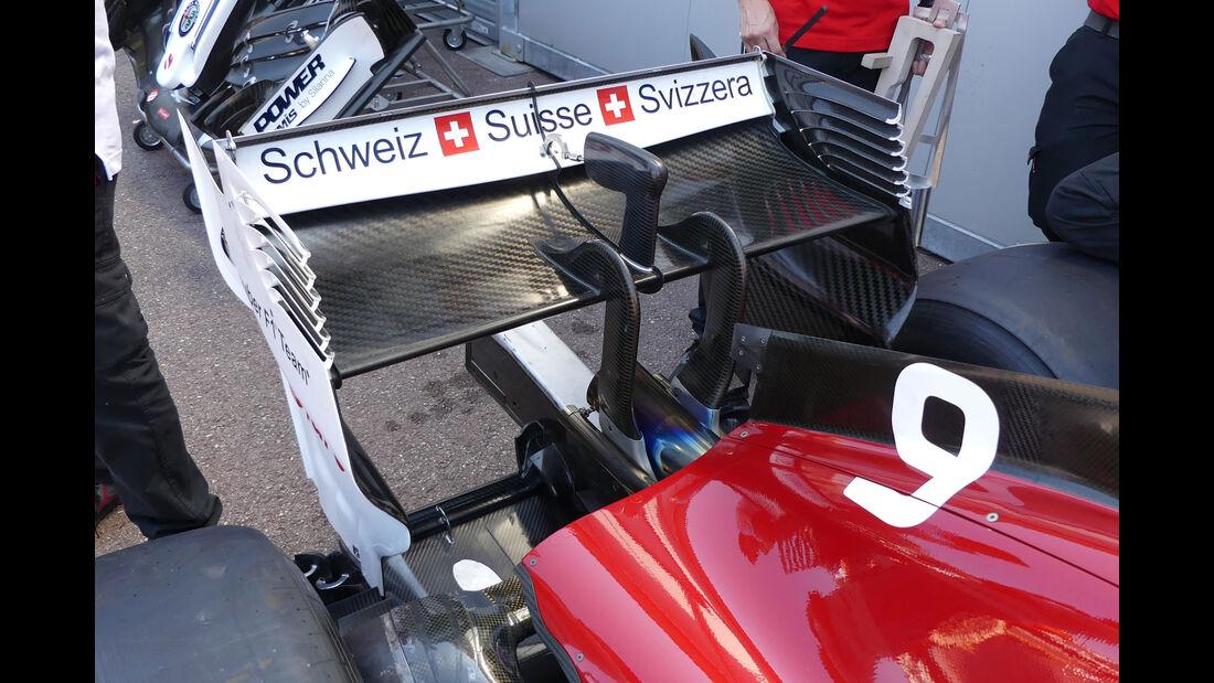 Sauber - GP Monaco - Formel 1 - Freitag - 25.5.2018