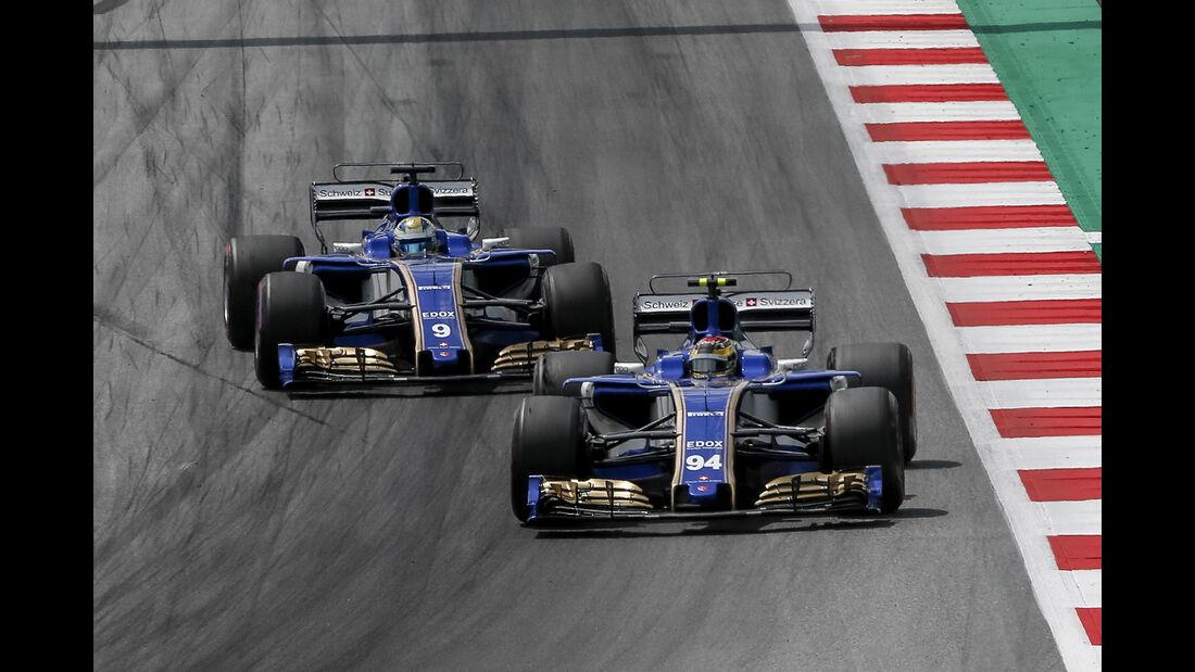 Sauber - GP Österreich 2017
