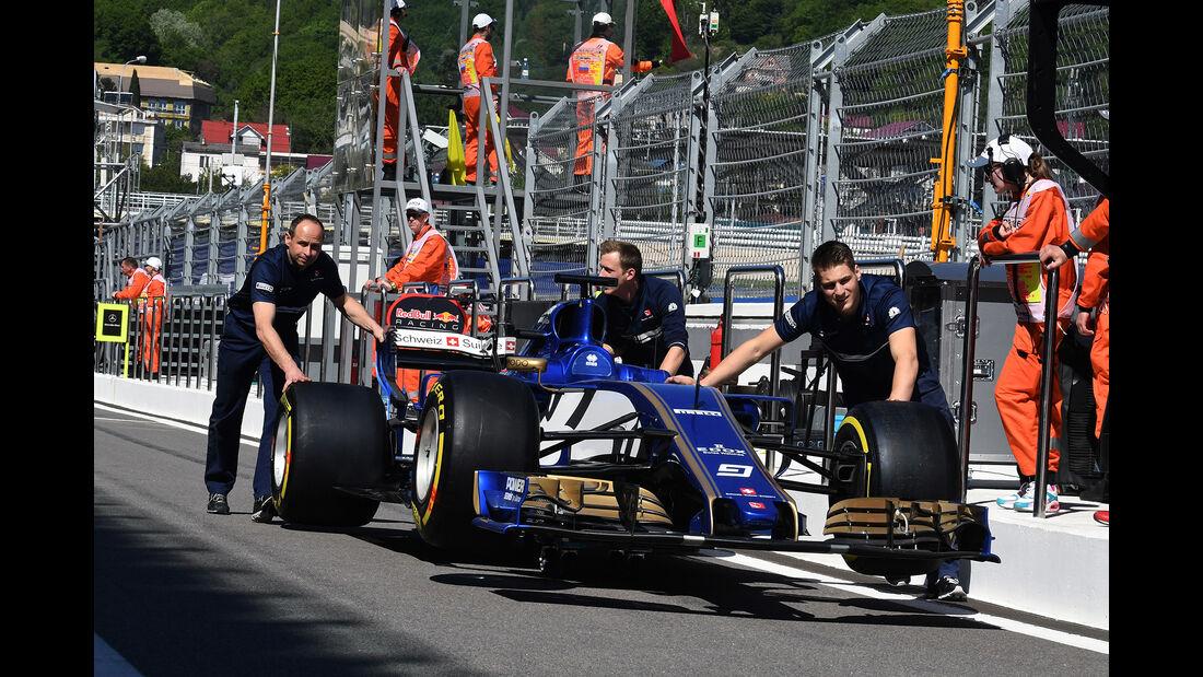 Sauber - GP Russland - Sotschi - Formel 1 - 27. April 2017