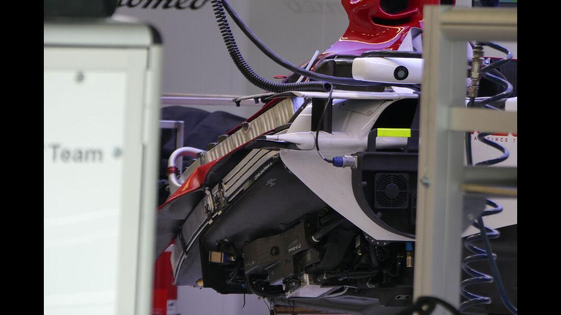 Sauber - GP Russland - Sotschi - Formel 1 - Mittwoch - 26.09.2018
