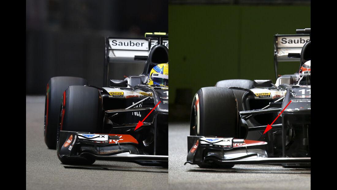 Sauber - GP Singapur 2014 Formel 1