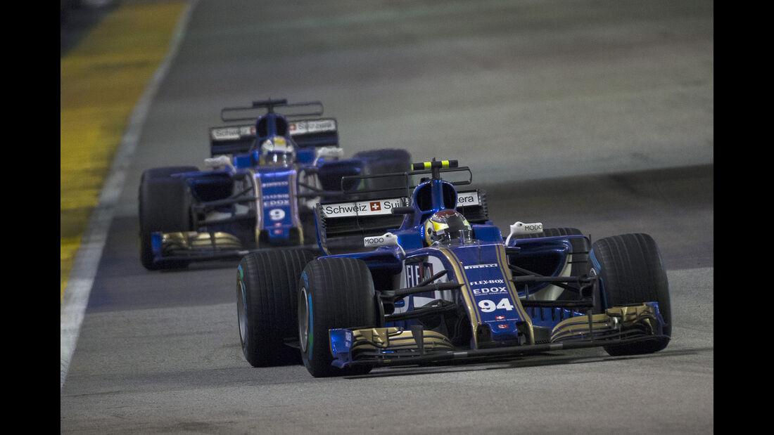 Sauber - GP Singapur 2017