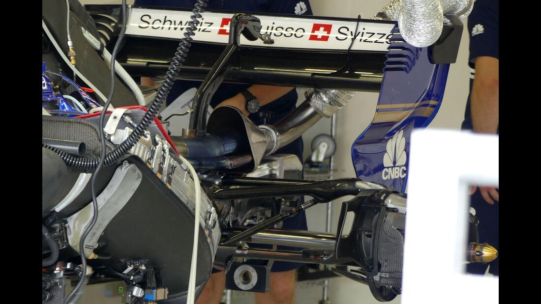 Sauber - GP Singapur - Formel 1 - Donnerstag - 14.9.2017