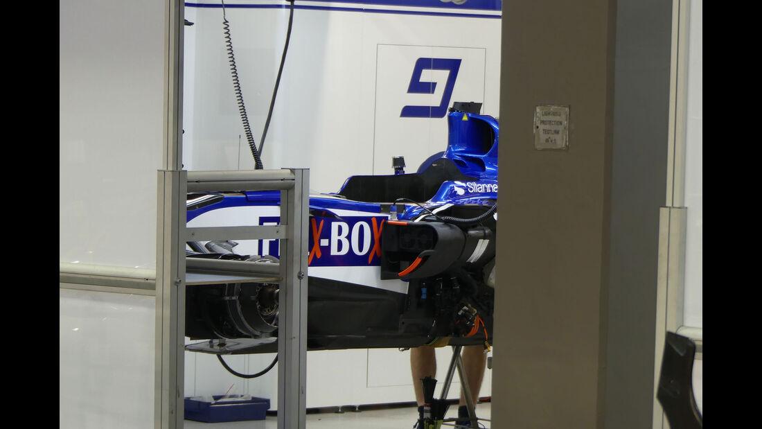 Sauber - GP Singapur - Formel 1 - Mittwoch - 13.09.2017