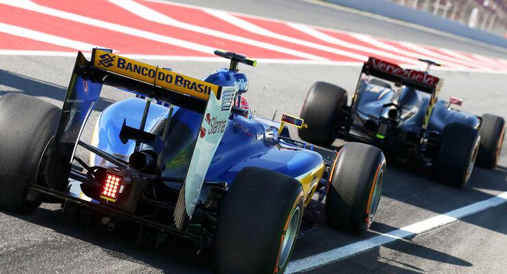Sauber - GP Spanien 2015