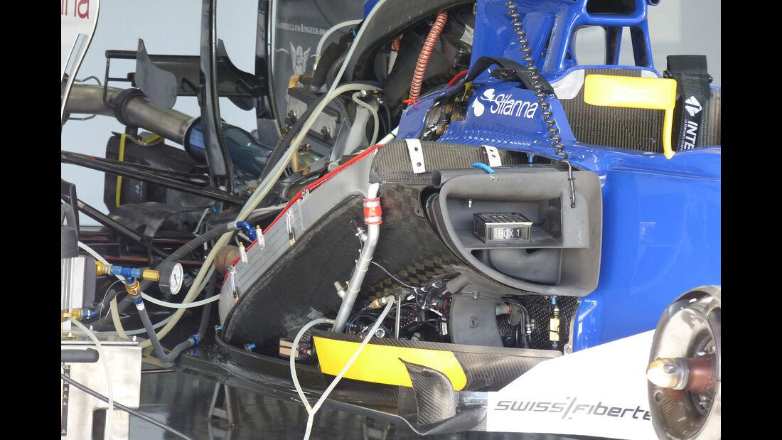 Sauber - GP Spanien - Samstag - 9.5.2015