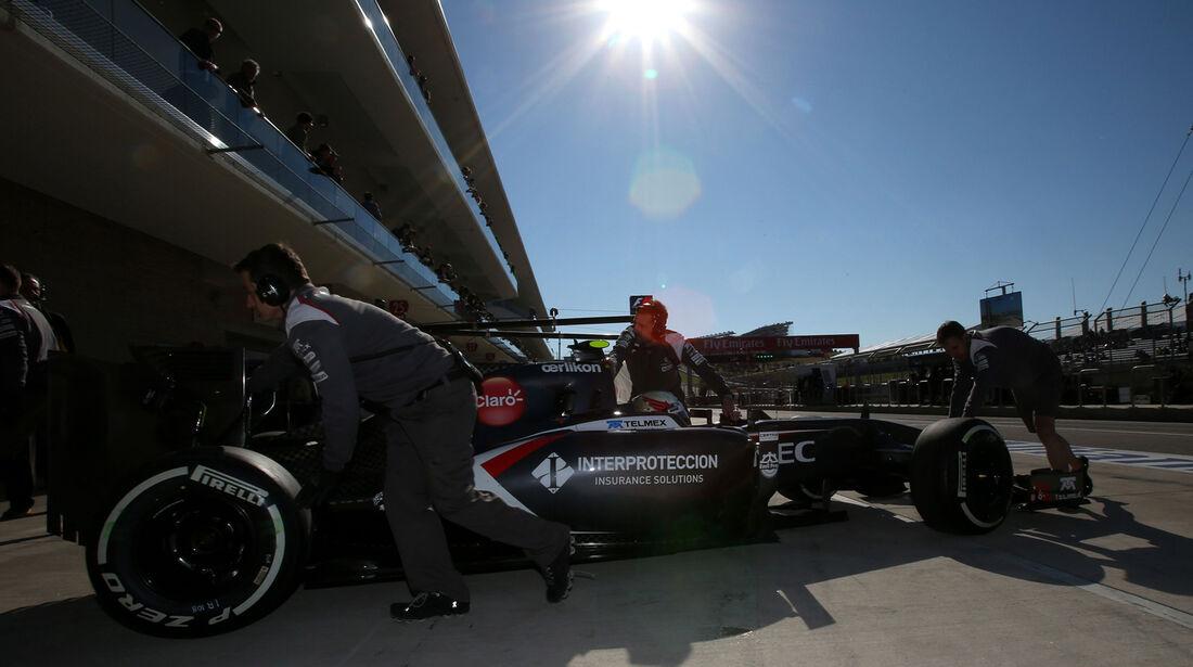 Sauber - GP USA 2014