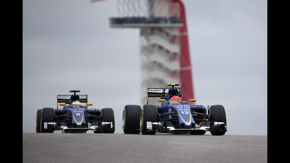 Sauber - GP USA 2015