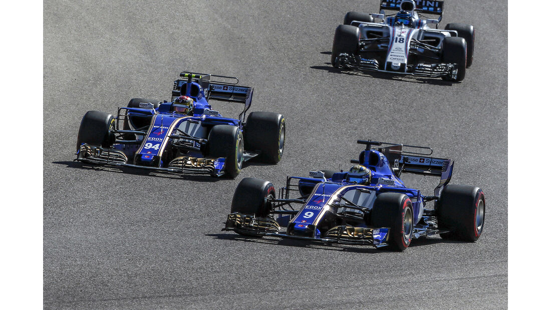 Sauber - GP USA 2017
