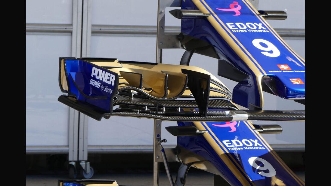 Sauber - GP USA - Austin - Formel 1 - Mittwoch - 18.10.2017