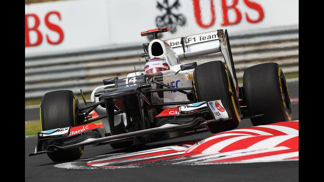 Sauber GP Ungarn 2012