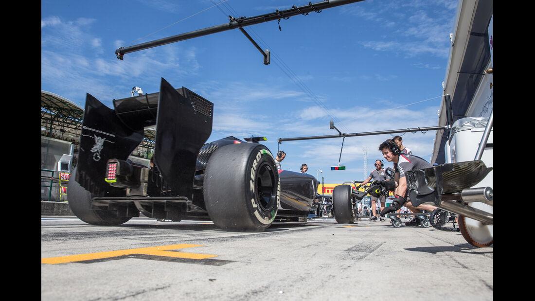 Sauber - GP Ungarn 2014
