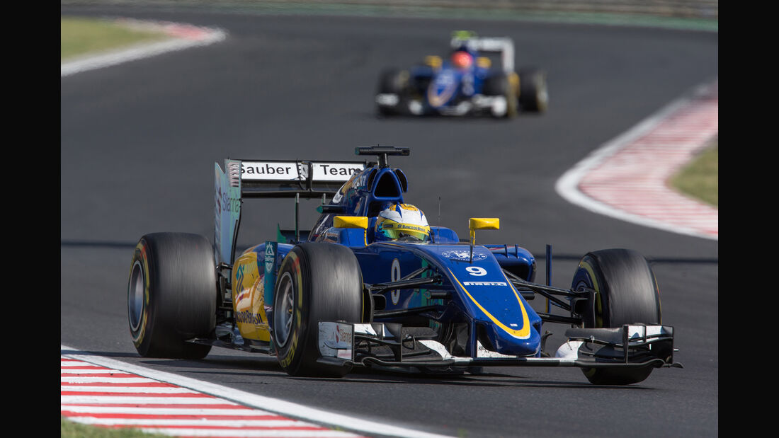 Sauber - GP Ungarn 2015