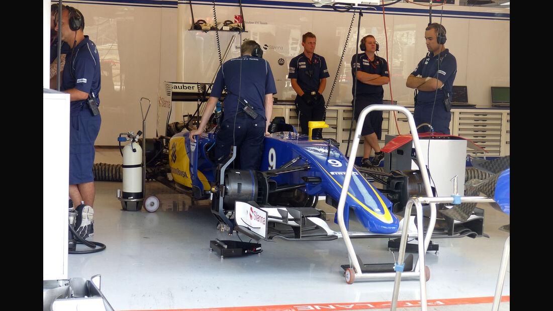 Sauber - GP Ungarn - Budapest - Freitag - 24.7.2015