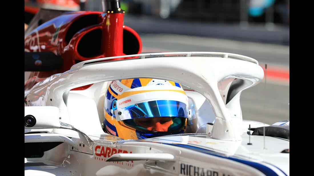 Sauber - Halo - F1-Test - Barcelona - 2018