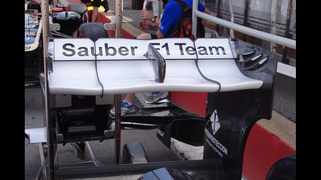 Sauber Heckflügel GP Kanada 2012