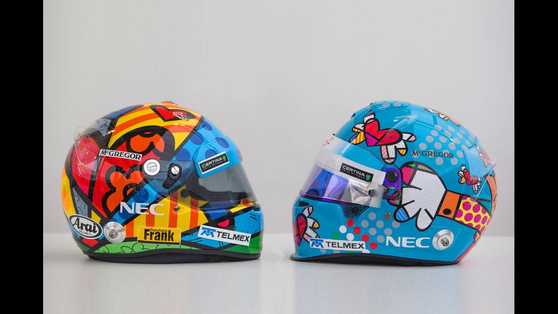 Sauber - Helme GP Monaco 2014