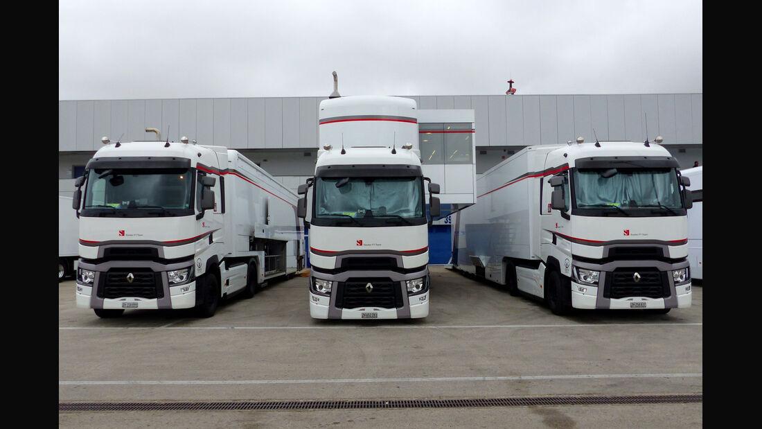 Sauber - Impressionen - Jerez - Formel 1-Test - 30. Januar 2015