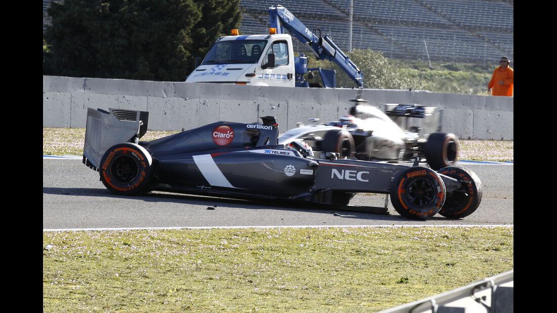 Sauber - Jerez-Test 2014